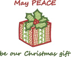 Our Christmas Gift embroidery design