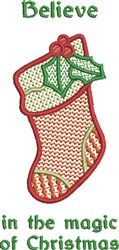 Magic Of Christmas embroidery design