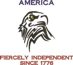 America Since 1776 embroidery design