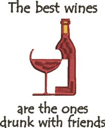 Best Wines embroidery design