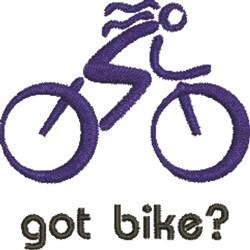 Got Bike embroidery design