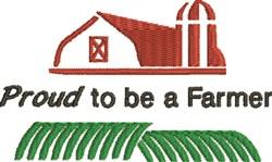 Proud Farmer embroidery design