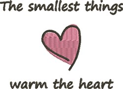 Small Things Heart embroidery design
