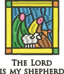 My Shepherd embroidery design