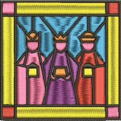 Wise Men embroidery design