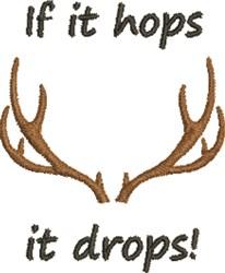 If It Hops embroidery design