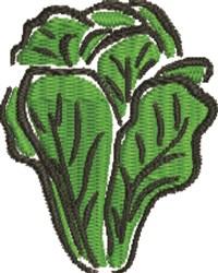 Romaine Lettuce embroidery design