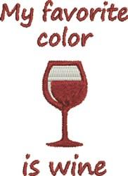 Wine Color embroidery design