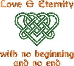 Love & Eternity embroidery design