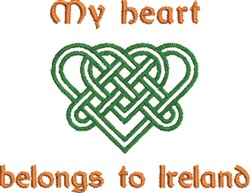 Belongs To Ireland embroidery design