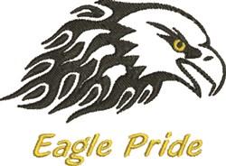 Eagle Pride embroidery design