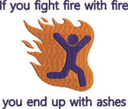 Fight Fire embroidery design