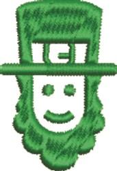 Leprechaun embroidery design