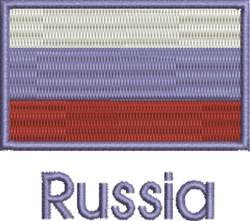 Russia embroidery design