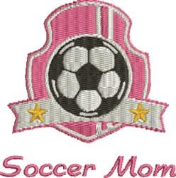 Soccer Mom Insignia embroidery design