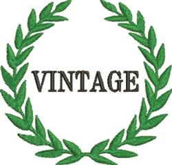 Vintage Wreath embroidery design