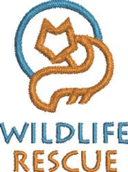 Wildlife Rescue embroidery design