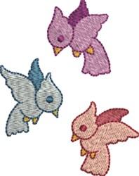 Spring Birds embroidery design