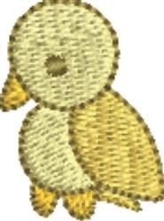 Yellow Bird embroidery design