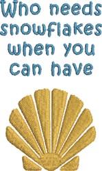 Seashell Dreams embroidery design