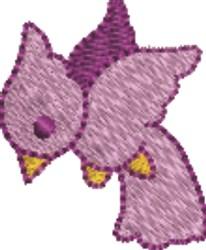 Purple Bird embroidery design