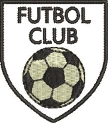 Futbol Club embroidery design
