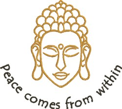 Peace From Within embroidery design
