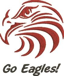 Go Eagles embroidery design