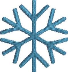 Big Snowflake embroidery design
