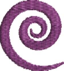 Purple Swirl embroidery design