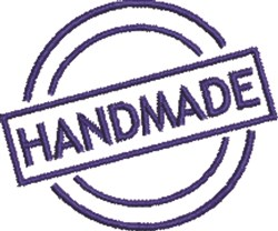 Handmade Seal 1 embroidery design