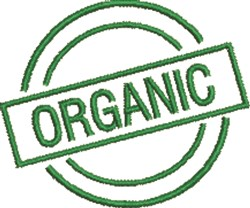 Organic Seal embroidery design