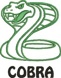 Cobra Outline embroidery design