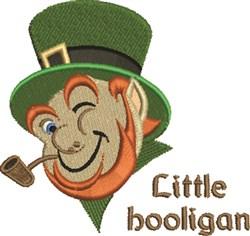 Little Irish Hooligan embroidery design