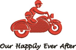 Our Happily Ever After embroidery design