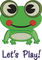 Lets Play! embroidery design