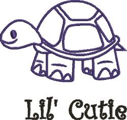 Lil Cutie Turtle embroidery design