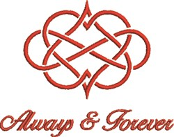 Always and Forever embroidery design