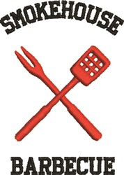 Smokehouse Barbeque embroidery design
