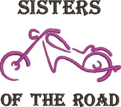 Sisters Of Road embroidery design