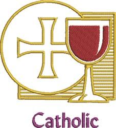 Catholic embroidery design