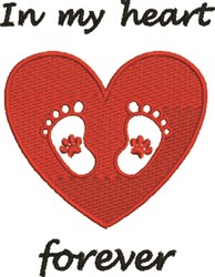 In My Heart embroidery design