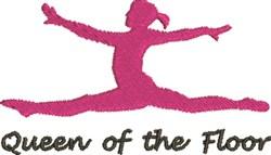 Queen Of Floor embroidery design