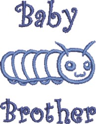 Baby Brother embroidery design