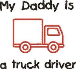 Truck Driver embroidery design