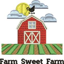 Farm Sweet Farm embroidery design