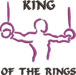 King Of Rings embroidery design