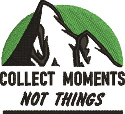 Collect Moments embroidery design
