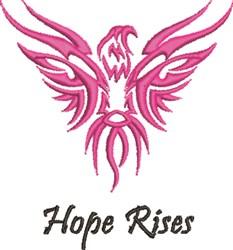 Hope Rises embroidery design
