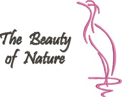 The Beauty Of Nature embroidery design